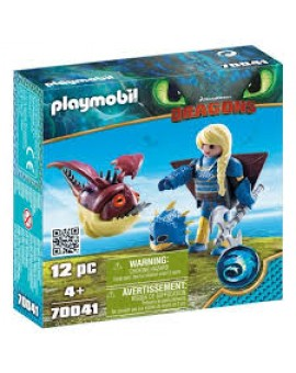 Playmobil 70041 Astrid Avec Globegobeur N19