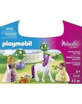 Playmobil 70107 Valisette Princesses Avec Licorne