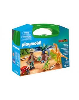 Playmobil 70108 Valisette Explorateur Et Dinosaures