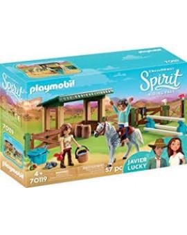 Playmobil 70119 Espace Entrainement Avec Lucky Et Javier