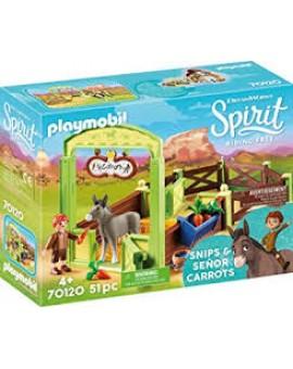 Playmobil 70120 La Meche Et M. Carotte Avec Box