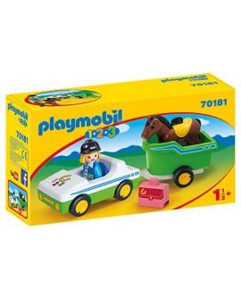 Pm 70181 Cavaliere avec voiture & remorque N20
