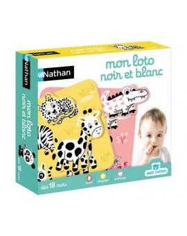 Nathan Lotto Noir et Blanc N18