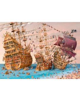 C.T. 1000mcx Bateau de Pirate