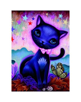 C.t. 1000 Dreaming Black Kitty