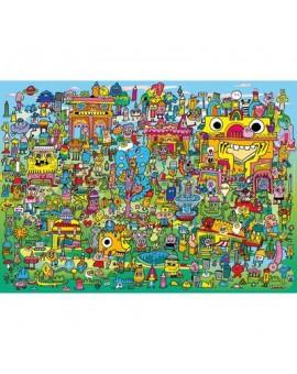 C,t. 1000 Doodle Village Burerman Heye  N21