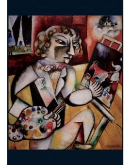Piatnik C.t. 1000 Chagall Self Portrait