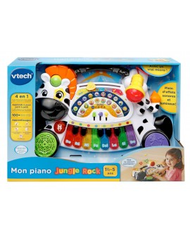 Vtech Piano Jungle Rock Zèbre