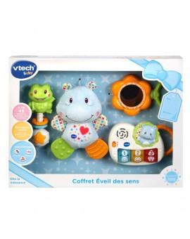Vtech Coffret Naissance Eveil Des Sens Bleu N19