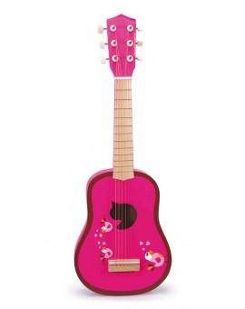 Scratch Guitare Oiseaux Amoureux 64cm