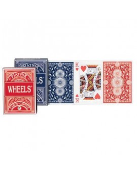 Cartes à jouer Wheels format Poker