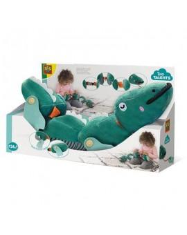 Boucle Et Bouton Crocodile