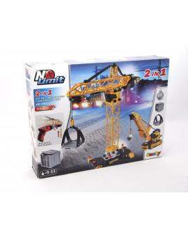 No Limit - Ensemble de construction Grue 2-en-1