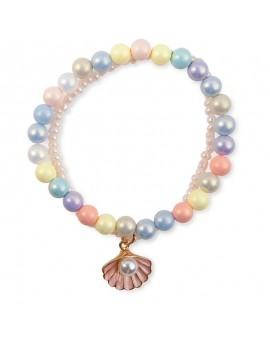 Bracelet Coquillage Pastel N21