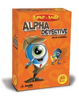 Alpha détective - Mont à mots