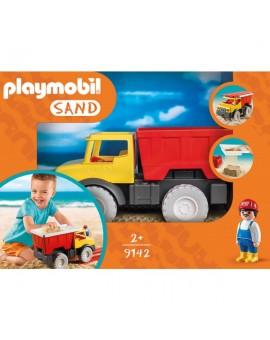 Playmobil 9142 - Camion tombereau avec seau
