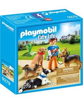 Playmobil 9279 Entraineur Et Chiens