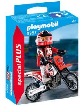 Playmobil 9357 Pilote De Motocross