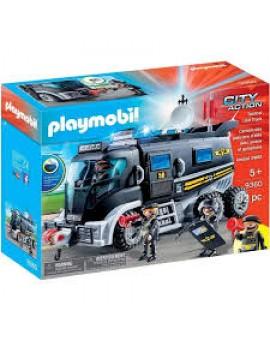 Playmobil 9360 Camion Des Policiers D'élite Avec Sirene