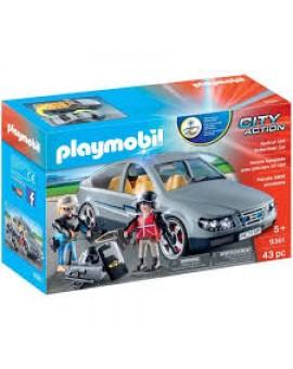 Playmobil 9361 Voiture Banalisee Avec Policiers En Civil