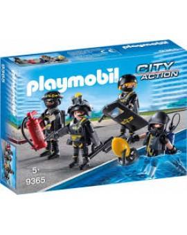 Playmobil 9365 Policiers D'elite