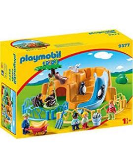 Playmobil 1 2 3 9377 Parc Animalier