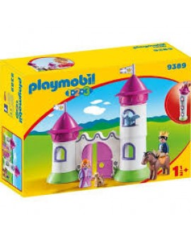 Playmobil 9389 Chateau De Princesse Avec Tours Empilables