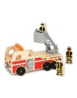 Melissa&Doug Camion de pompier en bois