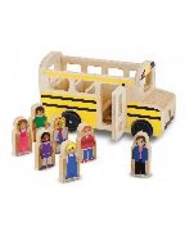 Melissa&Doug Autobus scolaire en bois