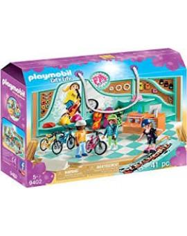 Playmobil 9402 Boutique De Skate Et Velos