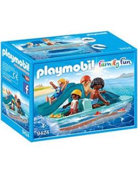 Playmobil 9424 Pedalo Avec 4 Personnages
