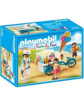 Playmobil 9426 Marchand De Glace Et Triporteur