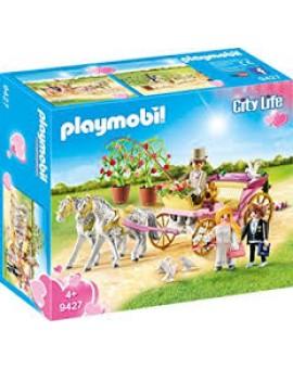 Playmobil 9427 Carosse Et Couple Mariés