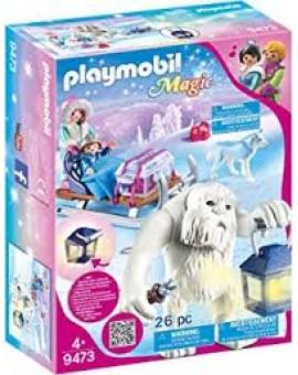 Playmobil 9473 Yeti Avec Traineau