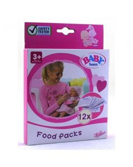 Baby Born Sachets de nourriture pour poupée