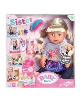 Baby Born- Poupée Grande sœur interactive