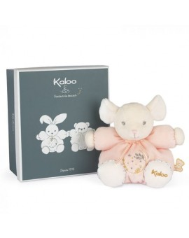 Kaloo Perle Petite Souris Rose Patapouf N20