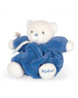 Kaloo Plume - Petit Ours Bleu Océan N20