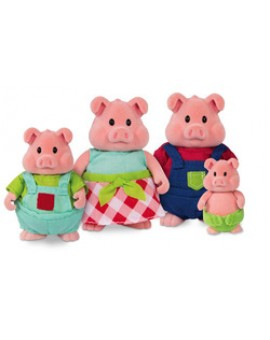 Li'l Woodzeez Famille de cochons