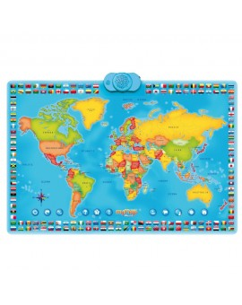 Carte Monde Interactive (Bilingue)