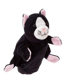 Marionnette Chat Noir Et Blanc