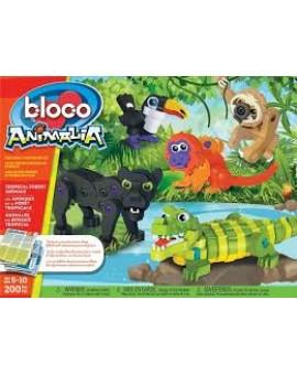 Bloco Animalia Foret Tropicale 5-10 ans