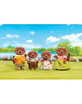 Calico Critters Famille Labrador Chocolat