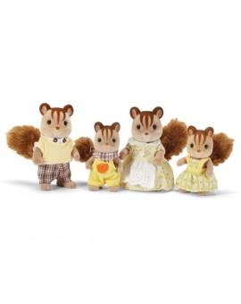 Calico Critters Famille d'écureuils