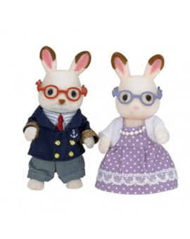 Calico Critters Grand-parents lapin Hopscotch