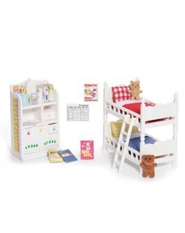 Calico Critters Chambre à coucher des enfants