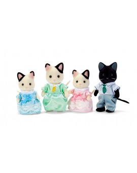 Calico Critters Famille Chat Tuxedo