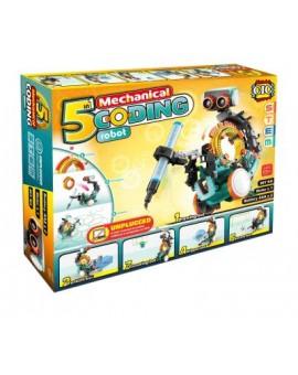 5 En 1 Robot De Codage Mécanique N19