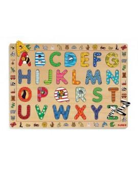Djeco C.T. en bois ABC 26 Lettres