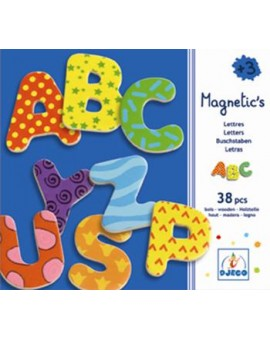 Djeco 38 Lettres Magnetic's fantaisie